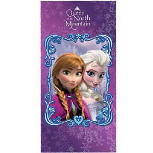 Disney Frozen Queen of the North Mountain Beach Bath Swim Towel 70cm x 140cm